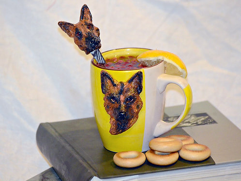 Чашки с декором