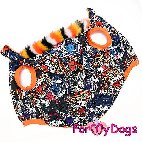В1- куртка на не крупную собаку (бигль, бульдог, минибуль...)