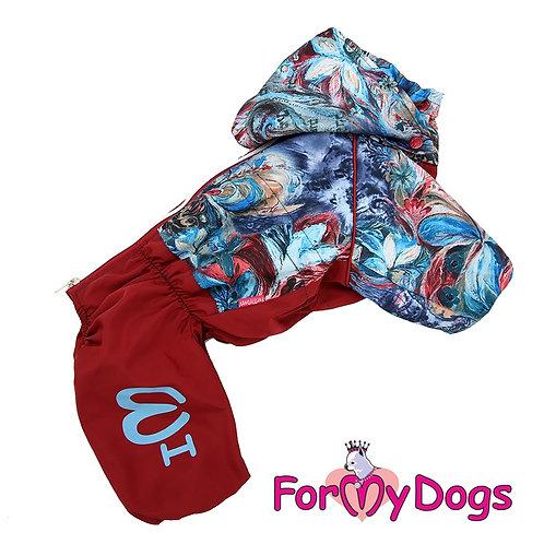 Дождевик для мелких и средних собак (на девочку)