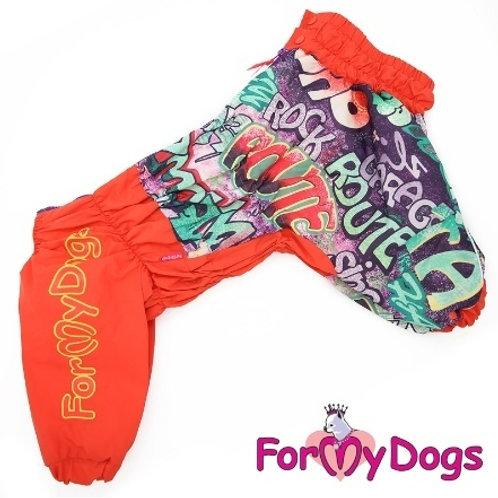 Дождевик для средних и крупных собак (на девочку)