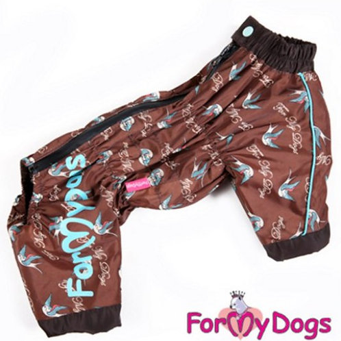 Р 8 (10)- Дождевик для мелких и средних собак (на девочку)