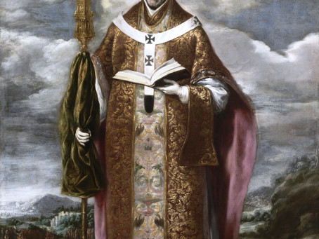 Saint Ildefonsus