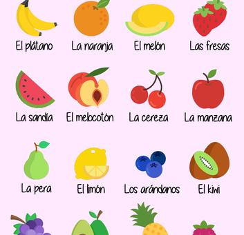 The Best Fruit/ La mejor Fruta