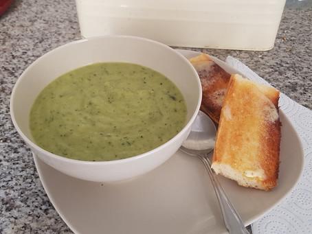 Cream of Courgette Soup