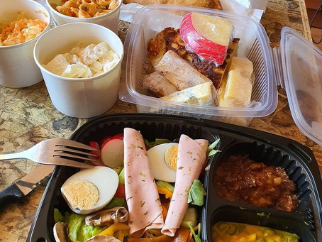 Ploughman's lunches