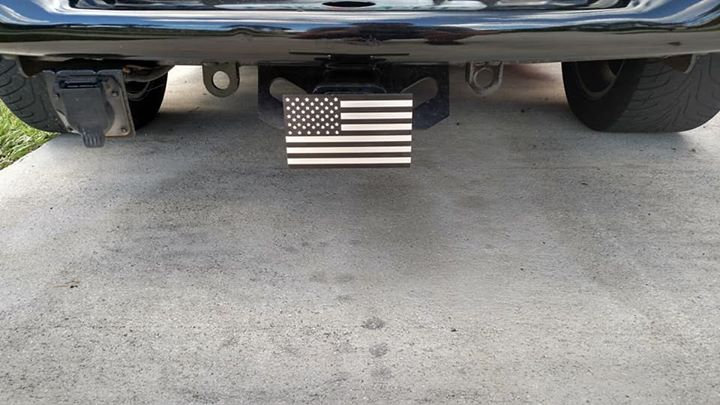 Billet Hitch Cover