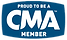 CMA Country Music Association Proud Member Logo Icon