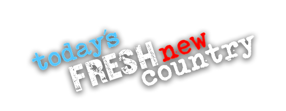 Today's Fresh New Country slogan logo