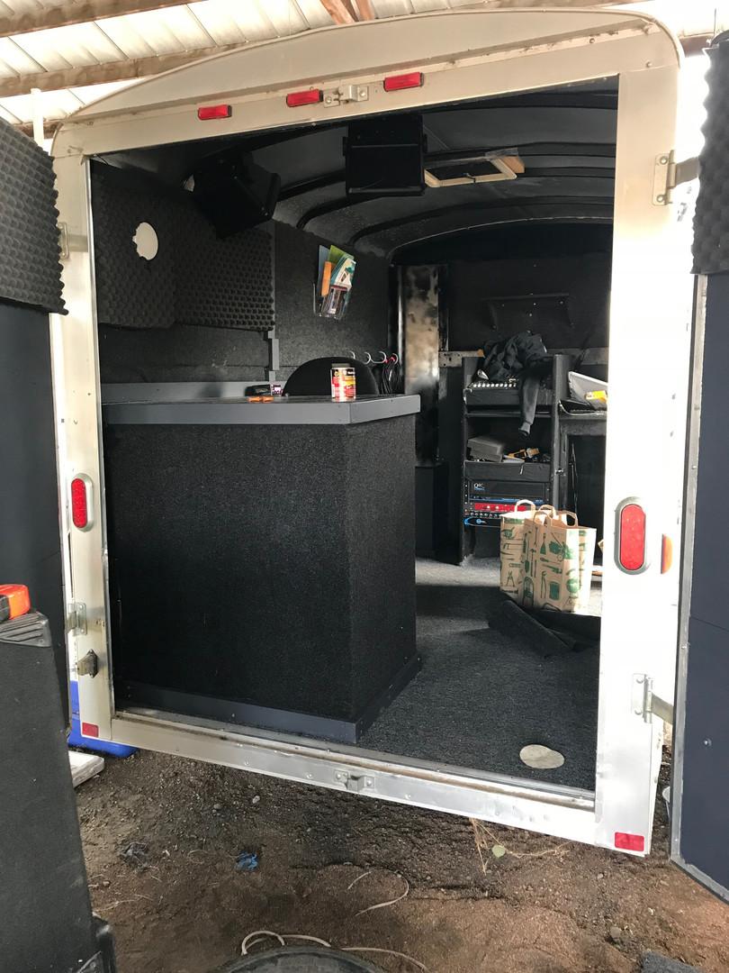Inside: Sound Deadening Stage