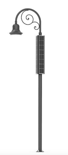 EnGo Historical : Solar Street Lighting with Traditional Elements