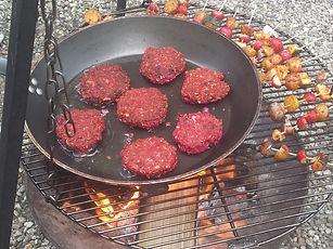 Buitenkookworkshop groentenburgers