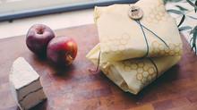 Bee's wrap en groentenzakjes....duurzame verpakking.....dus even uitproberen