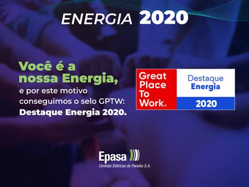 Epasa é Empresa Destaque no Setor de Energia para se trabalhar no Brasil