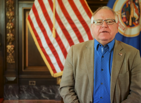 MN Gov. Tim Walz Welcomed Participants to the 2020 Judicial Bootcamp