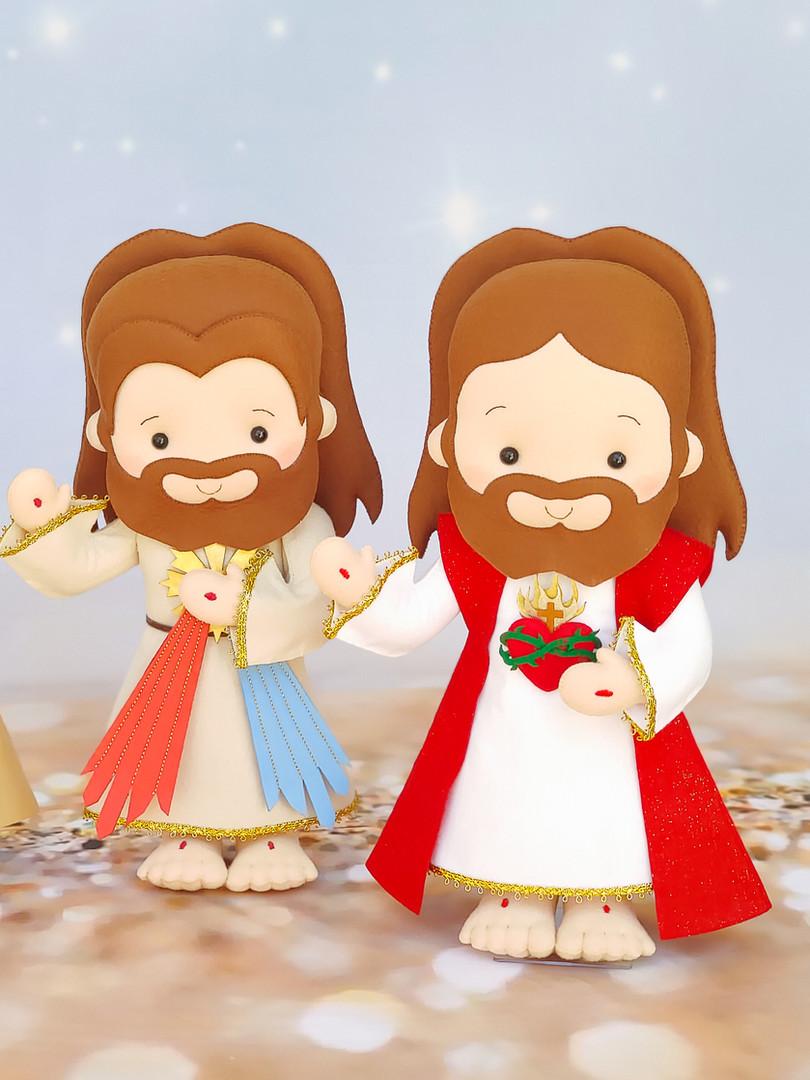 Jesus Misericordioso e Sagrado Coração de Jesus