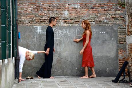 Site Specific Performance in Venice for Giudecca Arts Festival
