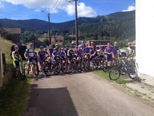 Le Team Superbiker en stage au gîte de La Niche !