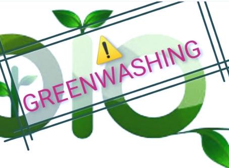 😠 Le greenwashing, qu'est ce que c'est ? Parlons-en !!