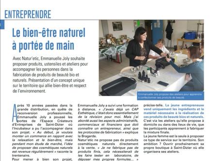 Article du Saint-Dizier Der & Blaise MAG