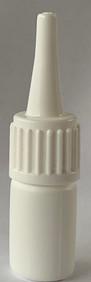 Glue (Kleber) Flaschen - weiss  - Deckel
