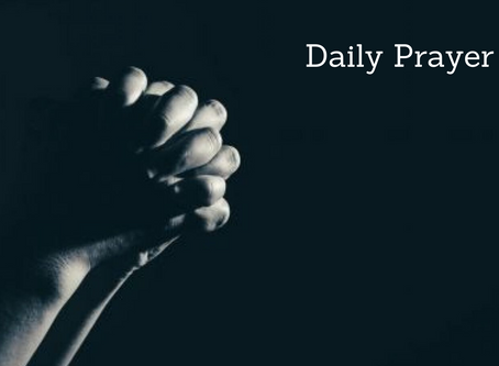 Daily Prayer for July 7, 2020