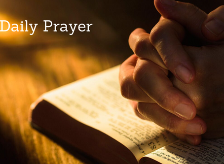 Daily Prayer for August 7, 2020