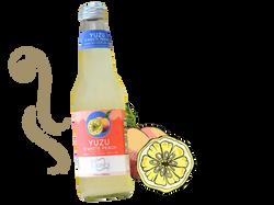 Yuzu & White Peach Sparkling Drink