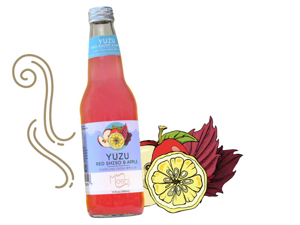 Yuzu Red Shiso & Apple Sparkling Drink