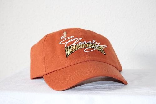 Bold Orange CMU Baseball Cap