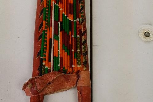 Handmade African Cloth Fans
