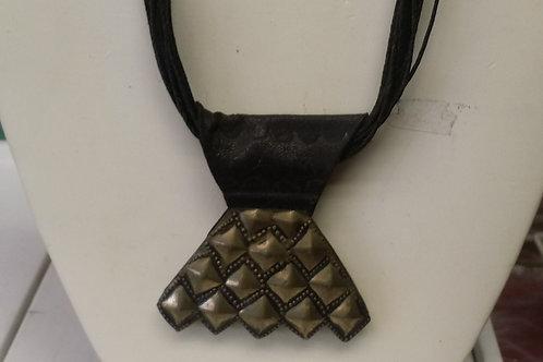 Tuareg Necklace on a Leather Strap