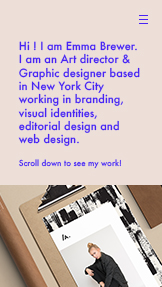 Portfolio website templates – Art Director
