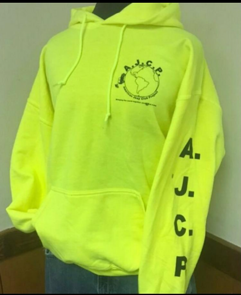 Safety Yellow Hoodie....NEW