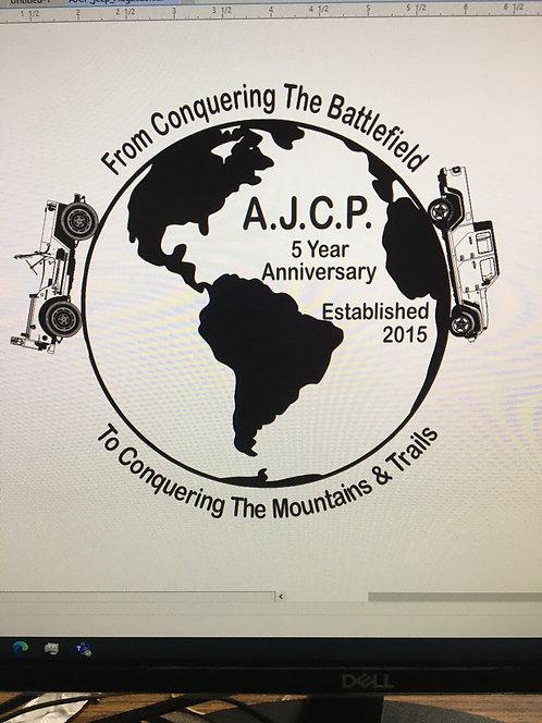 5th Anniversary Pre Registration Jeep w/2+ people Gate Fee