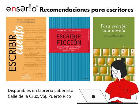 Recomendaciones de guías y manuales para escritores