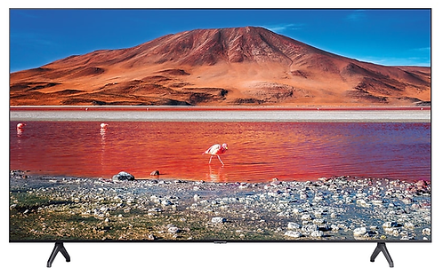 "Samsung Televisor 70"" 70TU7000 Cristal 4k , Wi Fi . Air play 2"