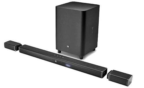 JBL Barra de sonido 5.1 parlantes sorround inalámbricos. 5 parlantes