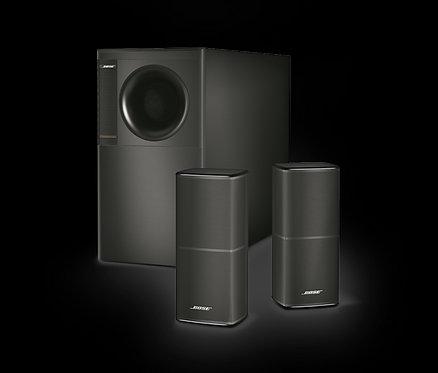Bose parlantes estéreo AM 5. Bajo y 4 cubos.