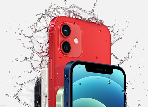 Apple Iphone 12  128Gb.  doble SIM color azul,negro