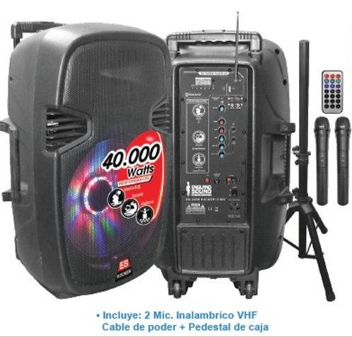"England sound 20GBE Rocker caja amplificada 15"""