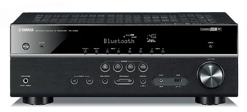 Yamaha Receptor amplificador Rx V485 Bluetooth, Wi Fi bluetooth 5.1 canales