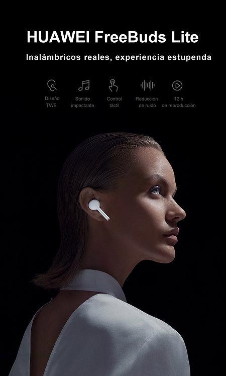 Huawei audífonos Freebuds color negro y blanco disponible