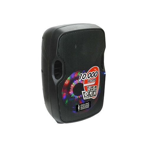 "Englandsound  Caja Amplificada con Batería 8"" 10000 W PMOP, Bluetooth, USB, SD"