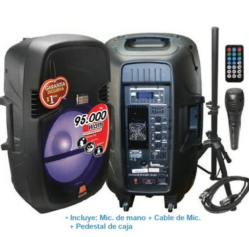 England sound ES-2AGAB ROCKER 15-LED 95000 Watts