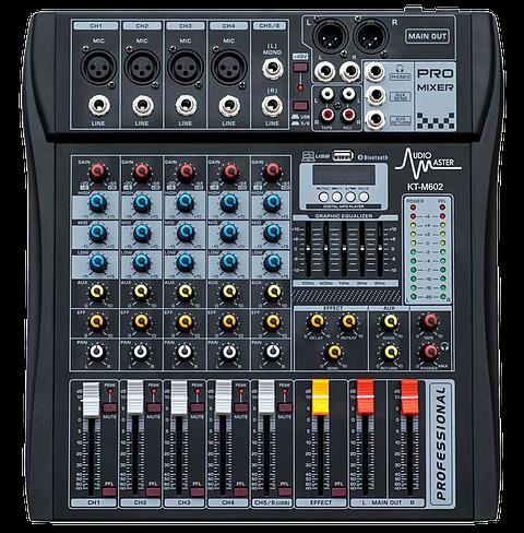 Audio Master Consola KT-M602
