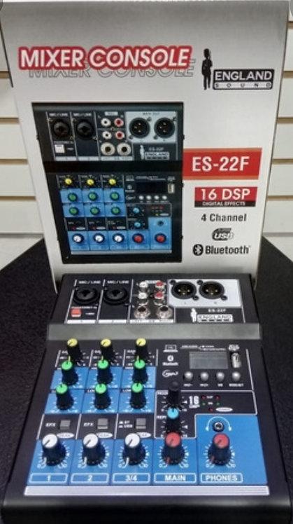 Englandsound ES-22F consola, USB, Bluetooth
