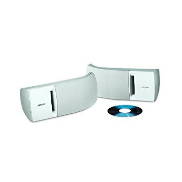 Bose parlantes  161 interiores blanco / negro