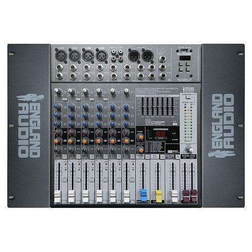 England Audio consola profesional 8 canales 6 mono + 2 estéreos EA-E82A