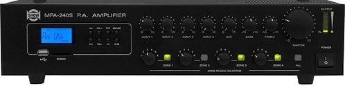 Show Amplificador 4 zonas con control de volumen 100 V