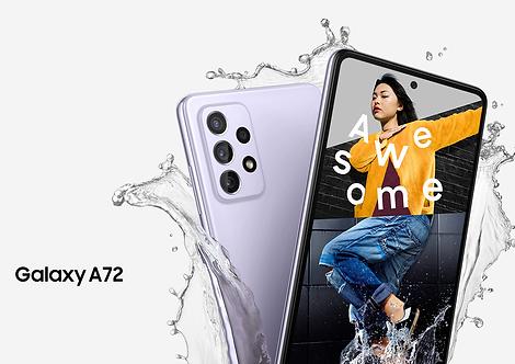 Samsung Galaxy A72  6GB, 128GB Desbloqueo facial